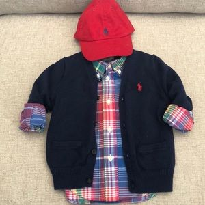 Ralph Lauren 18mth 3piece set.